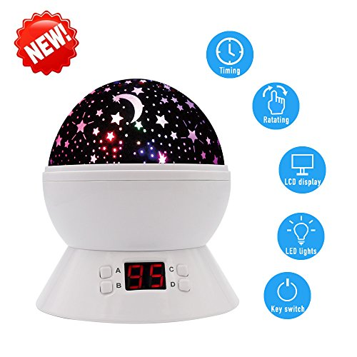 Constellation Star Sky Kids Night Lamp with LED Timer
