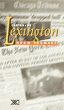 Cartas de Lexington par Noam Chomsky