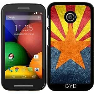 Funda para Motorola Moto E (Generation 1) - Bandera Del Estado De Arizona - Retro by BruceStanfieldArtist