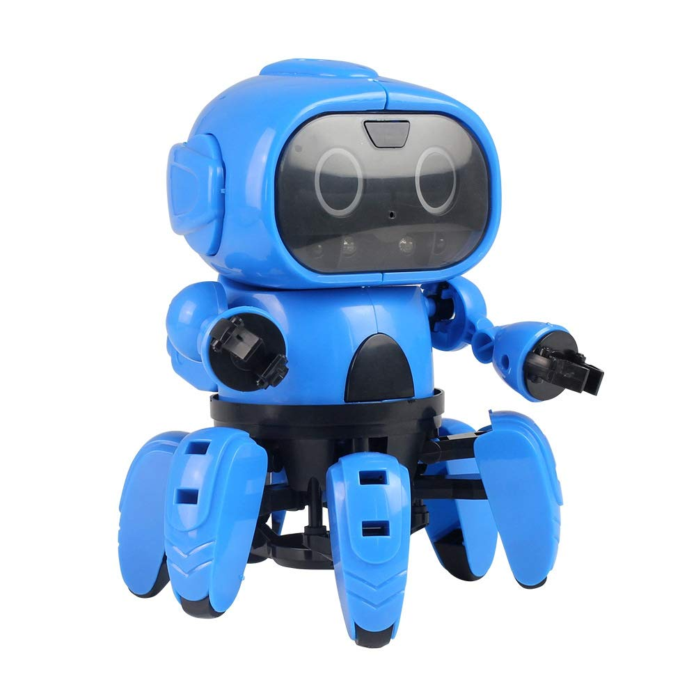Xhope Intelligent Ladybug Robot, Wireless Remote Control Electronic Toy RC Bionic Insect Digital Pet with Rechareable Battery for Kids Adults