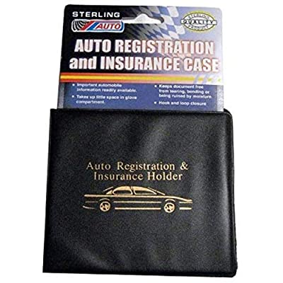 FMH Essential Vehicle Document Holder – for Insurance and Registration Certificates for Cars, Bicycles Motorcycles, Trucks, RVs with Bonus Tire Pressure Guage by Furnish My Homestead: Home Improvement