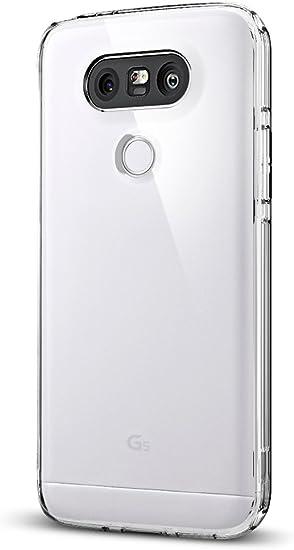 Spigen Funda LG G5, ç [Ultra Hybrid] Air Cushion [Crystal Clear ...