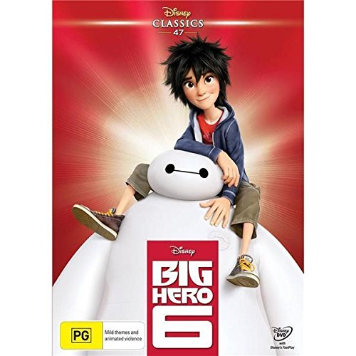 Big Hero 6 [Disney Classics] [NON-USA Format / Region 4 Import - Australia] (Disney Movie Big Hero 6)