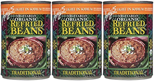 Amy's Organic Refried Beans - 15.4 OZ - 3 pk