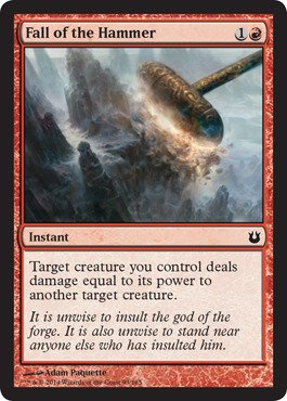Magic: the Gathering - Fall of the Hammer (93/165) - Born of the Gods - Foil
