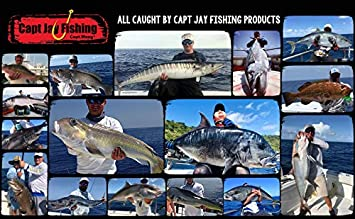 6pcs 9 inch Capt Jay Fishing trolling Lure 8pcs Package Fishing trolling Lure Offshore Big Game trolling Lure for Marlin Tuna Mahi Wahoo.