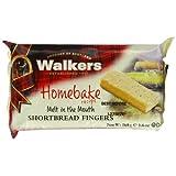 Walkers Cello Homebake Shortbread Fingers 160 g (Pack of 12)