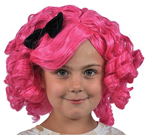 Crumb Sugar Cookie Costume (UHC Girl's Lalaloopsy Crumbs Sugar Cookie Wig Toddler Child Halloween Accessory)