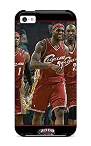 For Iphone 5c Tpu Phone Case Cover(nba Cleveland Cavaliers)