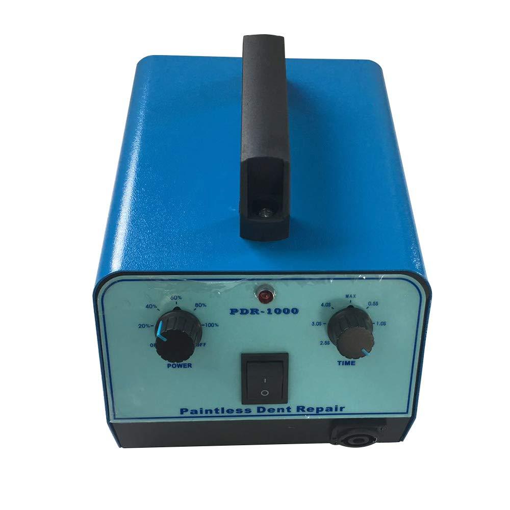 WOYO PDR007 800W 220V Auto Dellen Reparatur Hotbox Reparatur Paintless Dent Removal Tools Dellen Reparatur Ausbeulwerkzeug Lackfreies Dent Puller Set Schwarz