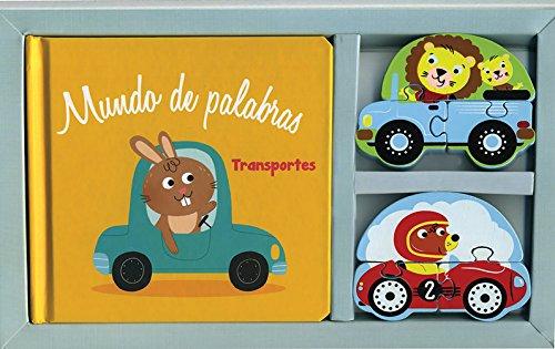 Caja regalo bebes libros mundo de palabras: Transportes
