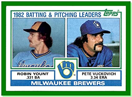 1983 Topps 321 Robin Yount Milwaukee Brewers Team Unmarked