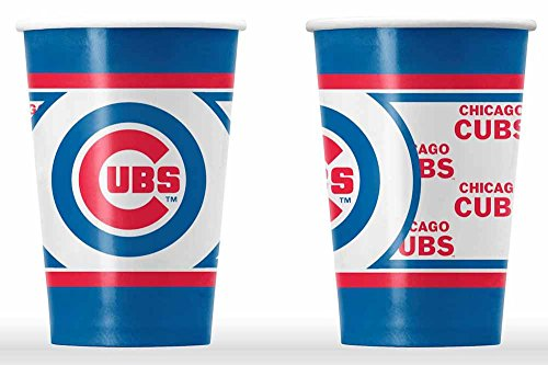 [Chicago Cubs Disposable Paper Cups] (Chicago Cubs Paper)