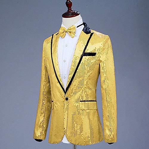 GRMO Men Suit Coat Floral Party Stylish Dinner Tuxedo Jacket Blazer