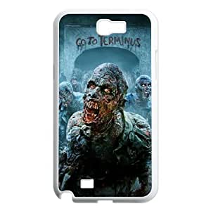 Samsung Galaxy Note 2 N7100 Walking Dead Phone Back Case DIY Art Print Design Hard Shell Protection DF097675