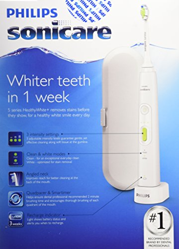 Philips Sonicare 5 Series Healthy White Holiday Toothbrush Bonus Pack by Philips Sonicare (Image #4)