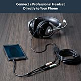 StarTech.com Headset Adapter, Microphone and