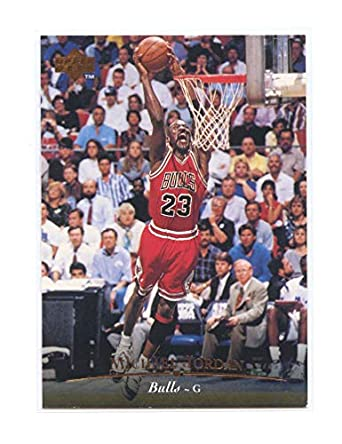 d7c22865a61 1995-96 Upper Deck  23 (Jersey Number) Michael Jersey Chicago Bulls Card