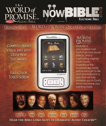 Amazon nowbible the word of promise nkjv now bible audio nowbible the word of promise nkjv now bible audio visual mp3 pda fandeluxe Image collections