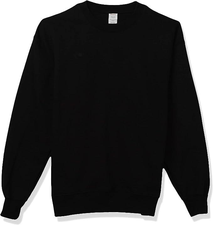 NEW Hanes Ultimate Cotton Crewneck PrintPro Sweatshirt Size Medium 38-40