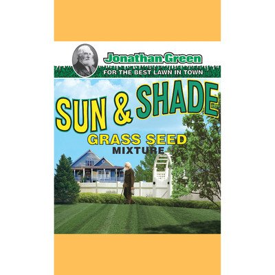 Jonathan Green 12005 Sun and Shade Grass Seed Mix, 7 Pounds