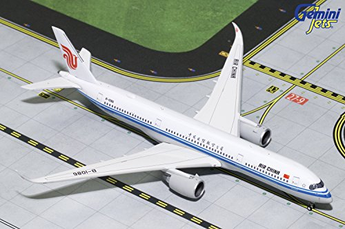 GeminiJets Air China350-900 B-1086 1:400 Scale Diecast Model Airplane, White
