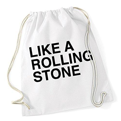 Like A Rolling Stone Gymsack White Certified Freak