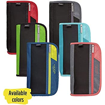 Amazon.com: Case-it, funda para lapiceras, tres pliegues ...