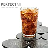 Coasters for Drinks Absorbent - Ceramic Stone