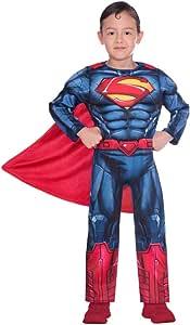 Disfraz de superman clásico para niño (edad 3-4 años)