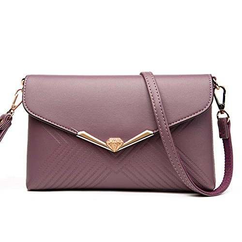 Available Womens Evening Clutch Colors Bag Shoulder Purple Purse Handbag In Bag Ladies Envelope 5 EdqSnEz