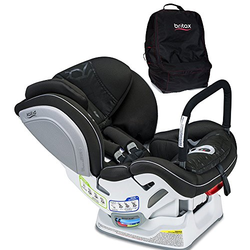- Britax Advocate ClickTight ARB Convertible Car Seat, Mosaic with Travel Bag Set