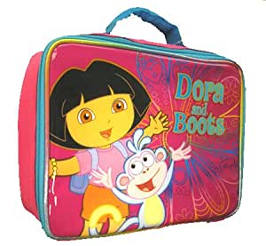 Nickelodeon Dora the Explorer and Boots Lunch Box - Pink