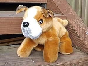 Amazon.com: Pitbull Puppy Plush Toy Dog - 12 Stuffed