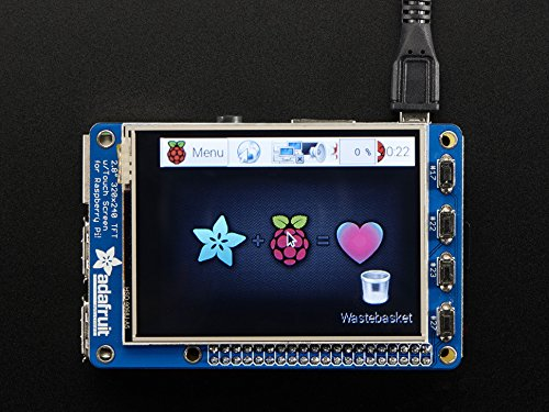 display-development-tools-pitft-plus-assembled-320x240-28-tft-resistive-touchscreen-pi-2-and-model-a