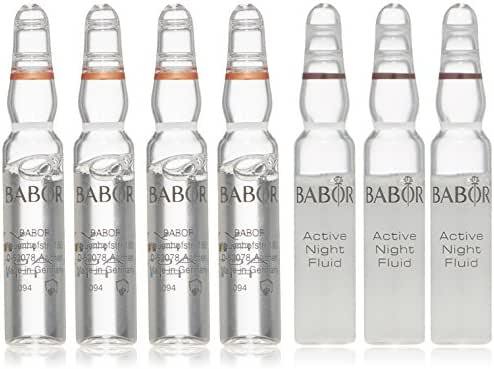 BABOR Limited Edition MASTERPIECE Ampoule Set for Face 14 ml – Best Natural Hydrating Face Serum for Day and Night
