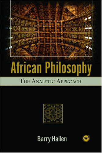 African Philosophy: The Analytic Approach