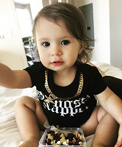8eef8f194 CHUBS Gangsta Napper Ones, Funny Baby Bodysuit, Cool Baby Clothes ...