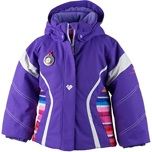 Obermeyer Kids Baby Girl's Aria Jacket (Toddler/Little Kids/Big Kids) Grapesicle 4T by Obermeyer Kids