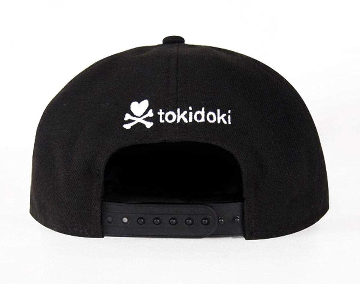 Amazon.com  Tokidoki Women s Snapback Hat  More Cupcakes Black  Clothing 6e782c5f9b65