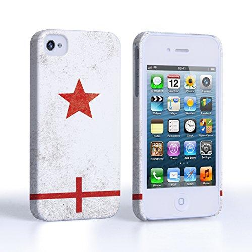 Caseflex Coque iPhone 4 / 4S Angleterre Rétro Coupe du Monde Dur Housse