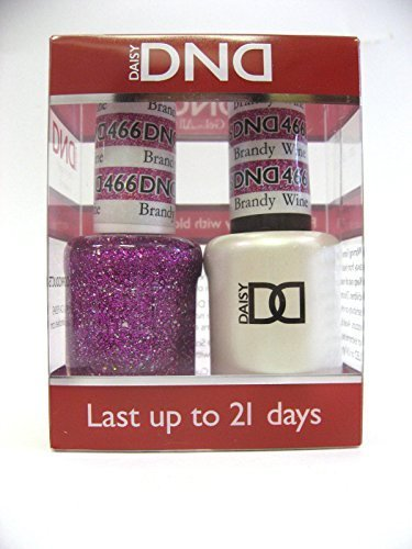 DND *Duo Gel*  Glitter Set 466 - Brandy Wine by DND Gel