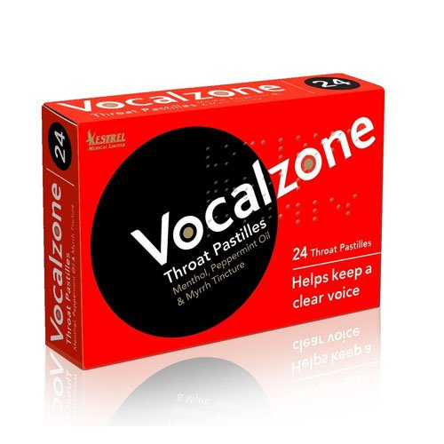 Vocalzone Throat 24 Pastilles - 24pasti