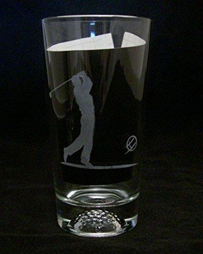 Golfer, Golf Ball Beer Glass, Golf Gift, Golf Ball Gift, Golf Christmas -