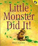 Little Monster Did It!, Helen Cooper, 0140558837