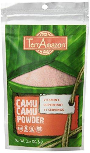 TerrAmazon Camu Camu Powder, 2 Ounce - Powder Camu