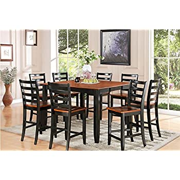 East West Furniture Square Butterfly Leaf Dining Table