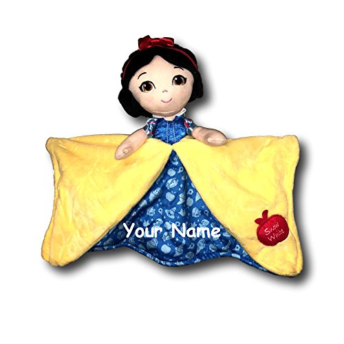 - Kids Preferred Personalized Disney Snow White and The Seven Dwarfs Princess Snow White Baby Blanky Blanket - 12 Inches