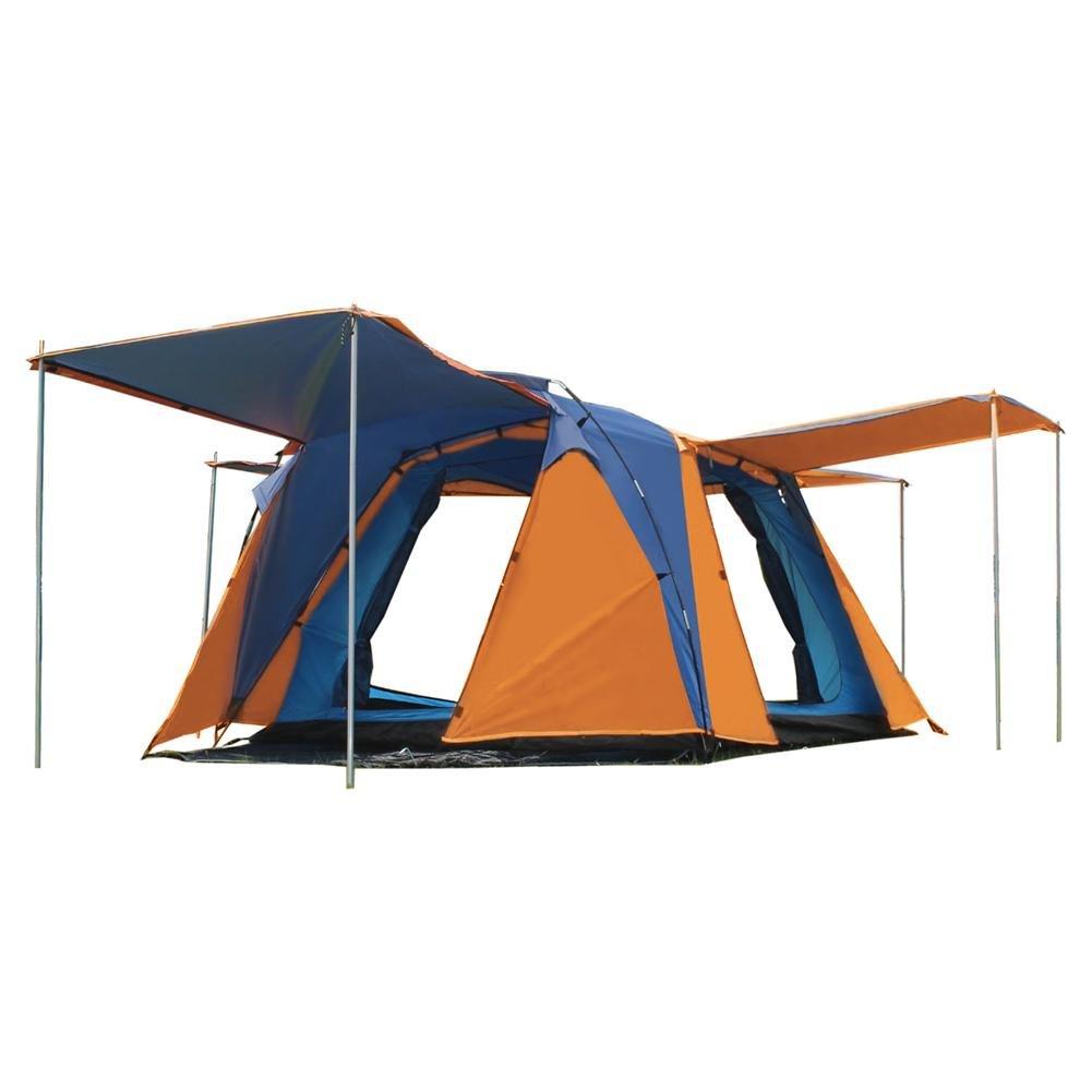 MIAO Outdoor Camping Vier Top und vier Türen Wasserdichte Zelte