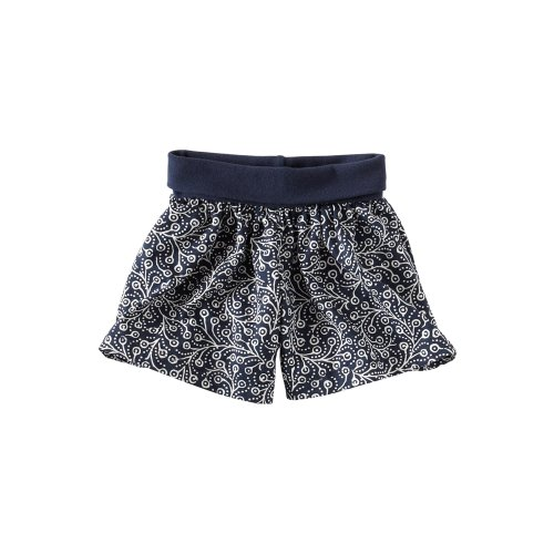 Tea Collection Baby-girls Infant Painted Vines Skort, Indigo, 6-12 Months